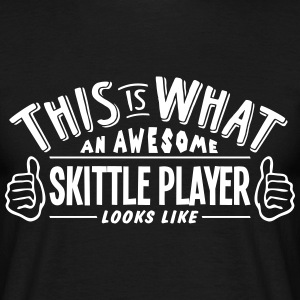 awesome skittle player looks like pro de t-shirt - Men's T-Shirt