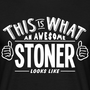 awesome stoner looks like pro design t-shirt - Men's T-Shirt