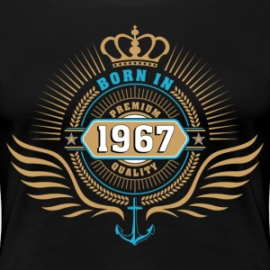 born_in_1967 T-Shirts - Frauen Premium T-Shirt