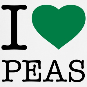 I LOVE PEAS  Aprons - Cooking Apron
