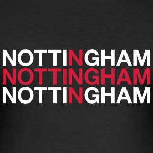 NOTTINGHAM - Men's Slim Fit T-Shirt