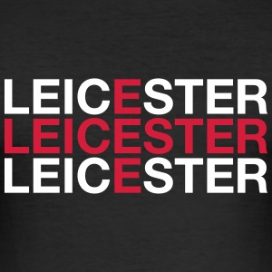 LEICESTER - Men's Slim Fit T-Shirt