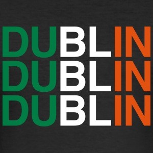 DUBLIN - Männer Slim Fit T-Shirt