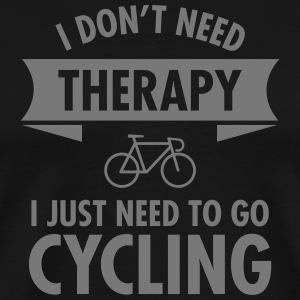 Therapy - Cycling T-skjorter - Premium T-skjorte for menn