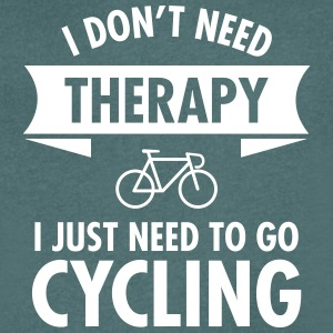Therapy - Cycling T-Shirts - Men's V-Neck T-Shirt