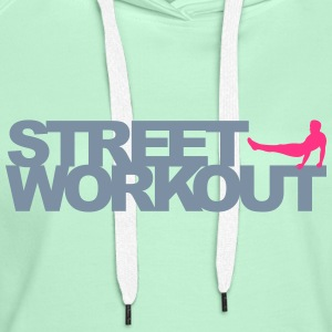 Street Workout Sweat-shirts - Sweat-shirt à capuche Premium pour femmes
