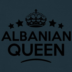 albanian  queen keep calm style WOMENS T-SHIRT - Men's T-Shirt