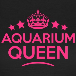 aquarium queen keep calm style WOMENS T-SHIRT - Women's T-Shirt