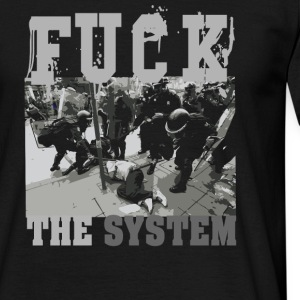 FUCK THE SYSTEM - Männer T-Shirt