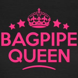 bagpipe queen keep calm style WOMENS T-SHIRT - Women's T-Shirt