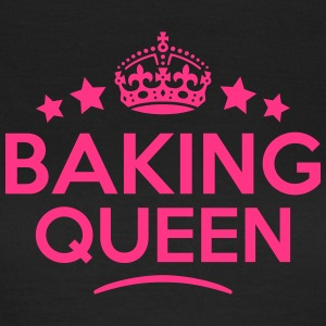 baking queen keep calm style WOMENS T-SHIRT - Women's T-Shirt