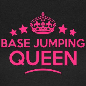 base jumping queen keep calm style WOMENS T-SHIRT - Women's T-Shirt
