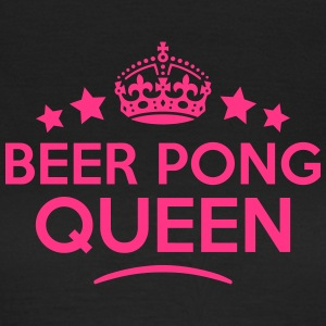 beer pong queen keep calm style WOMENS T-SHIRT - Women's T-Shirt