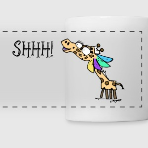 Geraldine the Giraffe SHHH! Mug - Panoramic Mug