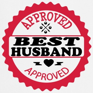 Approved best husband  Aprons - Cooking Apron