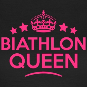 biathlon queen keep calm style WOMENS T-SHIRT - Women's T-Shirt