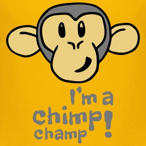 Kids I'm A Chimp Champ T-Shirt - Kids' Premium T-Shirt