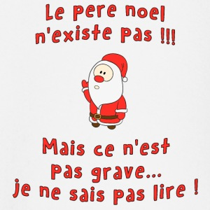 Pere noel existe pas Tee shirts manches longues Bébés - T-shirt manches longues Bébé