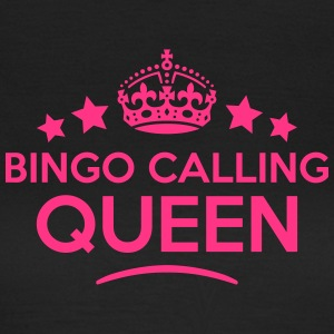 bingo calling queen keep calm style WOMENS T-SHIRT - Women's T-Shirt