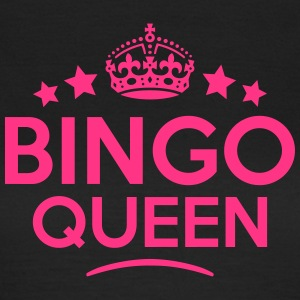 bingo queen keep calm style WOMENS T-SHIRT - Women's T-Shirt