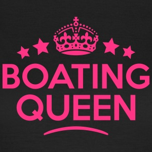 boating queen keep calm style WOMENS T-SHIRT - Women's T-Shirt