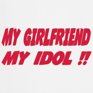 My girlfriend My idol !! Fartuchy - Fartuch kuchenny