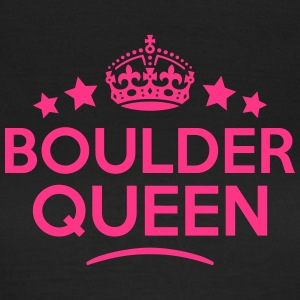 boulder queen keep calm style WOMENS T-SHIRT - Women's T-Shirt