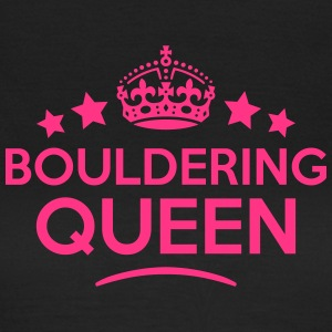 bouldering queen keep calm style WOMENS T-SHIRT - Women's T-Shirt