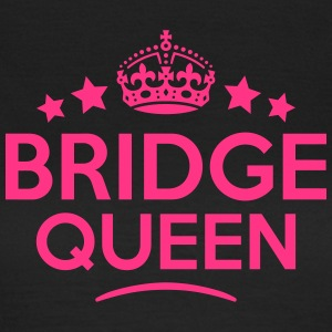bridge queen keep calm style WOMENS T-SHIRT - Women's T-Shirt
