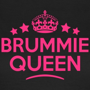 brummie queen keep calm style WOMENS T-SHIRT - Women's T-Shirt