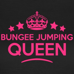 bungee jumping queen keep calm style cop WOMENS T- - Women's T-Shirt