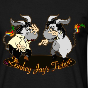 donkey jay s fiction T-Shirts - Männer T-Shirt