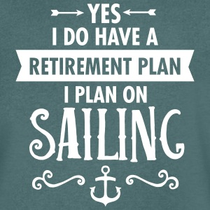 Retirement - Sailing T-Shirts - Men's V-Neck T-Shirt