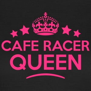 cafe racer queen keep calm style WOMENS T-SHIRT - Women's T-Shirt