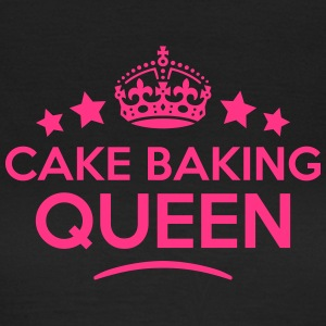 cake baking queen keep calm style WOMENS T-SHIRT - Women's T-Shirt