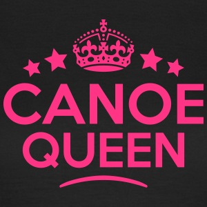 canoe queen keep calm style WOMENS T-SHIRT - Women's T-Shirt