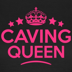 caving queen keep calm style WOMENS T-SHIRT - Women's T-Shirt
