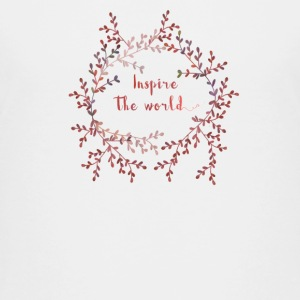 Inspire the world  T-shirts - Premium-T-shirt tonåring