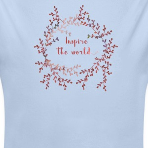 Inspire the world  Baby Bodysuits - Longlseeve Baby Bodysuit
