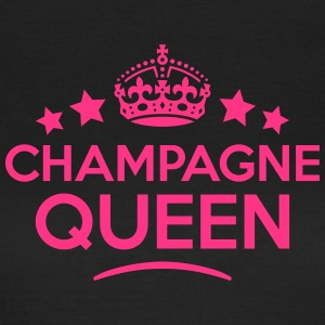 champagne queen keep calm style WOMENS T-SHIRT - Women's T-Shirt