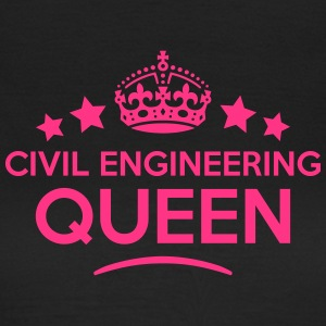 civil engineering queen keep calm style  WOMENS T- - Women's T-Shirt
