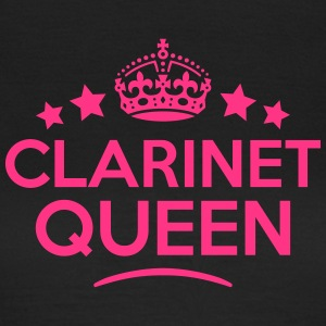 clarinet queen keep calm style WOMENS T-SHIRT - Women's T-Shirt