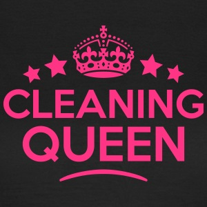 cleaning queen keep calm style WOMENS T-SHIRT - Women's T-Shirt