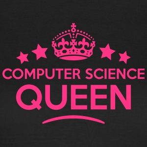 computer science queen keep calm style c WOMENS T- - Women's T-Shirt