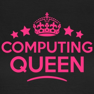 computing queen keep calm style WOMENS T-SHIRT - Women's T-Shirt