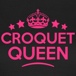 croquet queen keep calm style WOMENS T-SHIRT - Women's T-Shirt