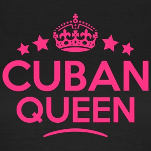 cuban  queen keep calm style WOMENS T-SHIRT - Women's T-Shirt