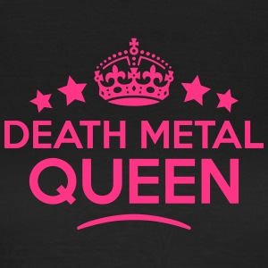death metal queen keep calm style WOMENS T-SHIRT - Women's T-Shirt