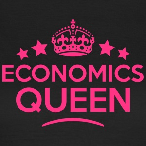 economics queen keep calm style WOMENS T-SHIRT - Women's T-Shirt