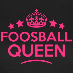 foosball queen keep calm style WOMENS T-SHIRT - Women's T-Shirt